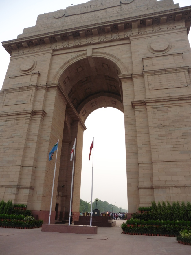 India Gate and the Eternal Flame