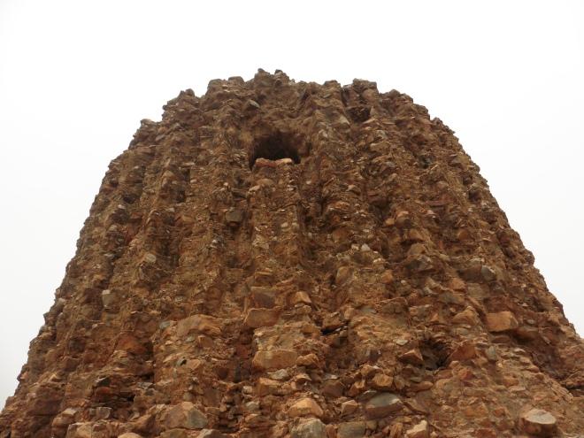 The Alai Minar - intended to be twice the size of the Qutab Minar but never finished